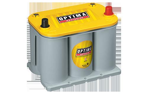 YELLOWTOP D35-650 - Baterías óptima amarilla - baterías de alto rendimiento AGM acumulador