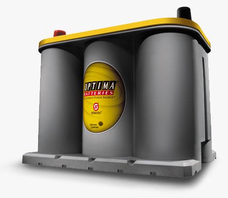 Batería Óptima Amarilla