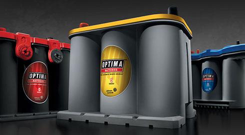 REDTOP, YELLOWTOP, AND BLUETOP CAR AND BOAT BATTERIES - Baterías para autos rojas, amarillas, azules y baterías para barco