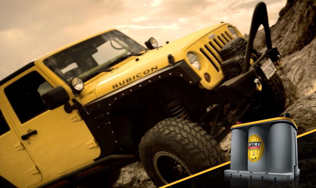 YELLOWTOP - Batería para trailer amarilla full power