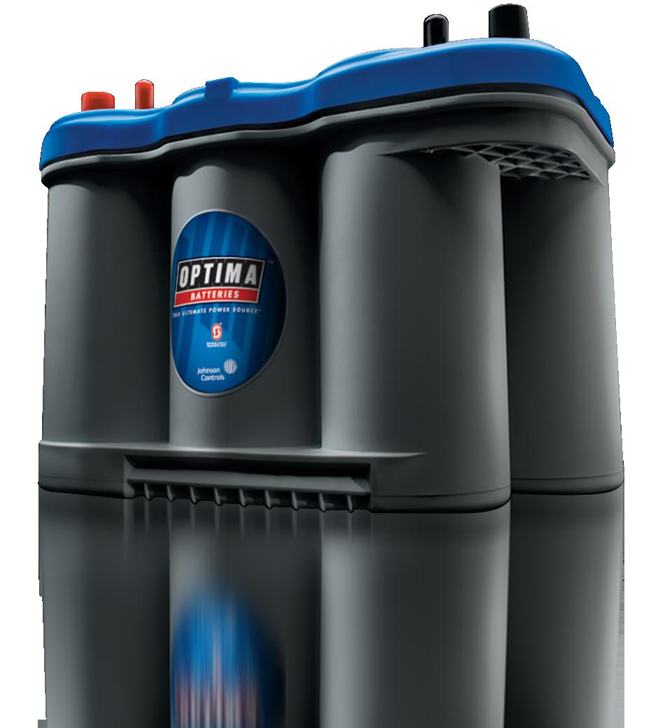 BLUETOP - Baterías óptima azul - baterías de alto rendimiento son las mejores starting batteries para uso marina