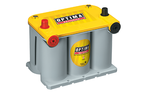YELLOWTOP D75/25-650 - Baterías óptima amarilla - baterías de alto rendimiento AGM acumulador