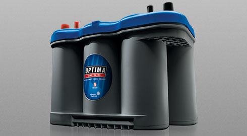 OPTIMA BLUETOP dos funciones o starting battery para marina