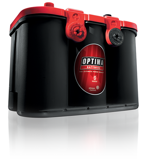 REDTOP® high-performance AGM batteries are the best starting batteries