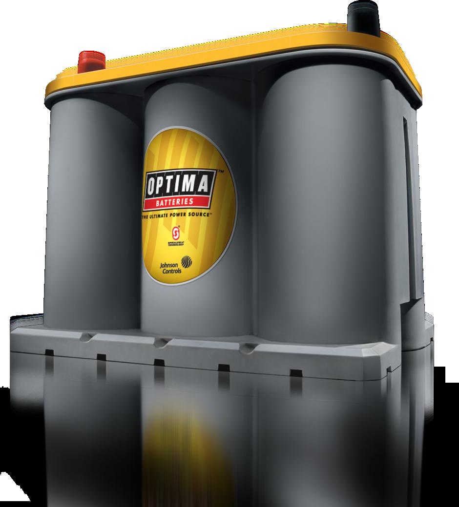 YELLOWTOP - Baterías óptima amarilla - baterías de alto rendimiento AGM acumuladores