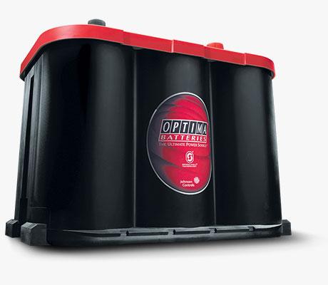 Batería Óptima Roja
